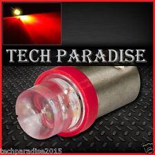 2x Ampoule BA9S / T4W / T2.3W LED Bulb Rouge Red veilleuse lampe light 12V