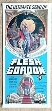 Flesh Gordon. Original Insert Poster. Australian version
