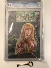 HOUSE OF SECRETS #92 CGC 9.2 OW Pages - 1st Appearance SWAMP THING - DC Mega Key