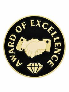 PinMart's Award of Excellence Diamond Corporate Enamel Lapel Pin