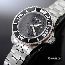 Rare Invicta Grand Diver Gen II Automatic SS Black Lava Rock Dial LE Men's Watch