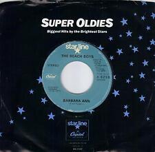 THE BEACH BOYS  Barbara Ann / Little Honda  45 on BLUE Starline label