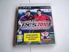 Jeu sony playstation 3 - Pro Evolution Soccer 2010 - PES 2010 - PS3 - PAL - FR