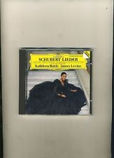 SCHUBERT LIEDER-KATHLEEN BATTLE/JAMES LEVINE-DG STEREO 1988 NR FN