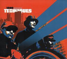 1200 TECHNIQUES - INFINITE STYLES CD 5 TRACKS 2001 DIGIPAK CASE