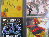 Oysterband- Holy Bandits/ Deserters/ Trawler/ Shouting End of Life- 4 CDs