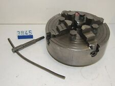 Pratt Burnerd 4 jaw lathe chuck 10in diameter(3845)
