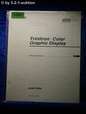 Sony Operating Instructions GDM fw900 graphic display (#1581)