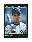1993 Pinnacle Derek Jeter New York Yankees #457 Baseball Card
