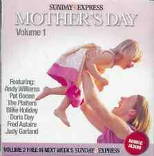 MOTHER'S DAY - 2 CDs: ANDY WILLIAMS, DORIS DAY, PLATTERS, PAT BOONE, GLEN MILLER