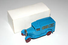 Dinky Toys Pre War Type 1 OxO Beef Delivery Van # 28D (Copy) NEW !!