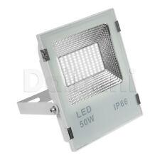 50W SMD Outdoor LED Flood Light 6000K Daylight IP65 White Waterproof