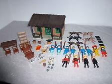 Playmobil Westernhaus alt Klicky Konvelute aus den 70er  Rarität KG  ( 5 )