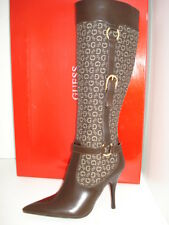 NEW GUESS by Marciano Marnette boots 7 women brown leather winter hills