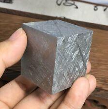 379g Muonionalusta Etched Meteorite Slice , Swedish iron meteorite