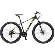 Bicycle Schwinn Men's Mountain Bike 29in Aluminum Frame Dark Green and Black