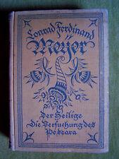 """""""Der Heilige; Die Versuchung des Pescara"""" von Conrad Ferdinand Meyer (1922)"""