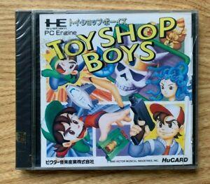 Toyshop Boys PC Engine New Sealed NTSC-J Hucard