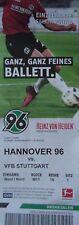TICKET BL 2017/18 Hannover 96 - VfB Stuttgart
