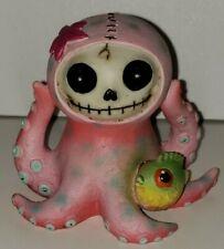 Furrybones Skeleton Animal Octopee the Pink Octopus Figure Statue Skull
