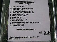 LES SAGES POETES DE LA RUE.. Apres L'Orage (13 Track CD Promo Album)