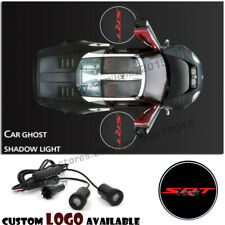 Srt Logo Car Door Led Projector Laser Courtesy Ghost Shadow Lights For Dodge Srt