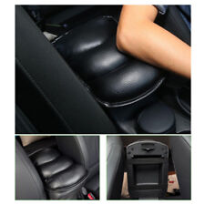 Car SUV Center Box PU Armrest Console Soft Pad Cushion Cover Wear Durable Black