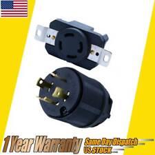Generator Cord Assembly 584 Plug Connector NEMA L14-30R L14-30P 30A 125/250V