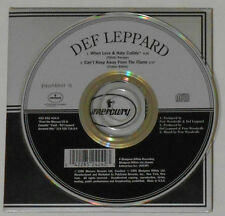 Def Leppard - When Love & Hate Collide/Can't Keep Away.. - 1995 CD Single