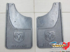 2009-2017 Dodge Ram 1500-3500 Rear Heavy Duty Rubber Splash Guards Mopar OEM