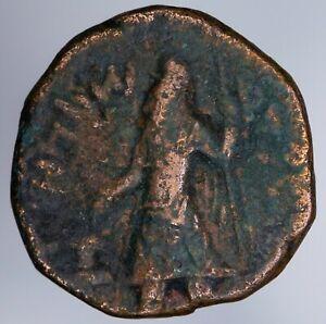India Kushan Empire Kanishka I 127-152 Tetradrachm Mioro Sun God ANS Kushan 416