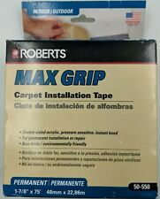 Roberts Max Grip 50-550 Acrylic Tape, 1-7/8-Inch x 75 foot Roll, Brown