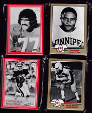 CHEAP!! 1994+2000 JOGO CFL HALL OF FAME 4 SETS!!!! AMAZING 100 TOTAL CARDS
