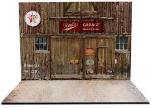 Diorama Ron's Garage - 1/18ème - #18-2-F-F-004
