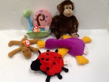 Lot of 5 Ty plush toys