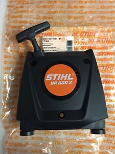 STIHL BR800 BR800x recoil pull start starter 4283-190-4001 NEW oem WITH screws