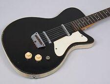 1959 Silvertone 1303 Danelectro U2 Guitar Black Lipstick Pickups