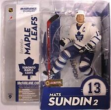 Mats Sundin Toronto Maple Leafs NHL McFarlane Action Figure NIP Series 9 NIB