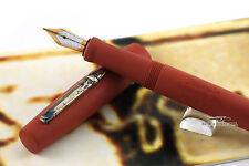 Stipula Novecento Terracotta Limited Edition Ebonite Fountain Pen - M Nib - Rare