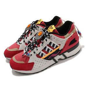 adidas Originals ZX 10000 Native American Red Grey Black Men Casual Shoes G55726