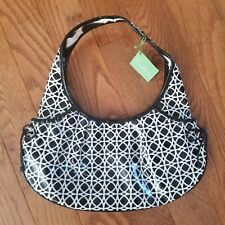 Vera Bradley Night and Day Tied Together Hobo Shoulder Bag Purse