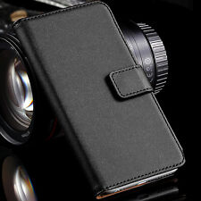 Genuine Leather Wallet Case Flip Cover for Apple iPhone 12 Pro Max mini 11 SE 2