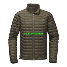 NEW The North Face Mens ThermoBall Insulated Jacket New Taupe Green Matte XL