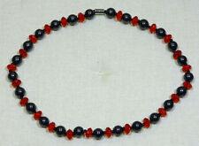 Hämatit Magnetschmuck Halskette Collier *Diamond* 45 cm NEU