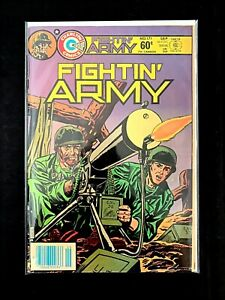 FIGHTIN' ARMY #171 CHARLTON COMICS 1984 FN/VF