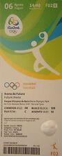 Ticket 6.8.2016 olimpia río balonmano Women 's rusia-corea del sur # f02