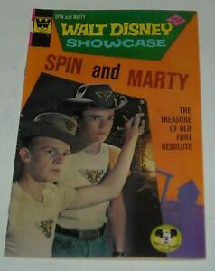 WALT DISNEY SHOWCASE # 32 SPIN & MARTY WHITMAN COMICS TV MICKEY MOUSE CLUB