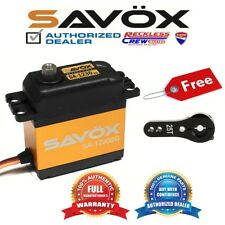 Savox SA-1230SG Monster Torque Steel-Gear digital servo + Free ALU servo horn BK
