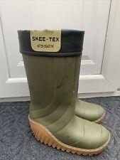 Skeetex Essex Thermal Boots Wellies Uk 8-9 Used Fishing