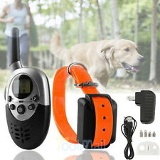 1000 Yard Waterproof Dog Shock Training Collar with Remote Rechargeable 4 level